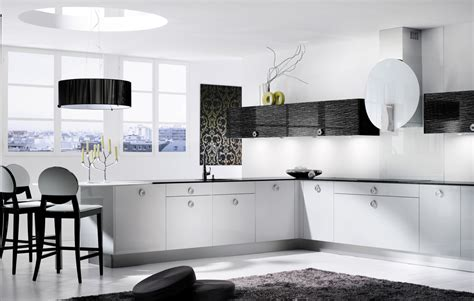 descent black and white kitchen design stylehomes