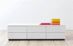 Lowboard Mit Schubladen : voice arctic lowboard 180 cm breit mit 5 schubladen ~ Watch28wear.com Haus und Dekorationen