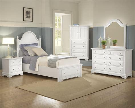 bedroom set with matching desk vaughan bassett cottage twin panel storage bed belfort