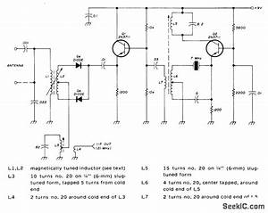 Tunable Vlf - Audio Circuit - Circuit Diagram