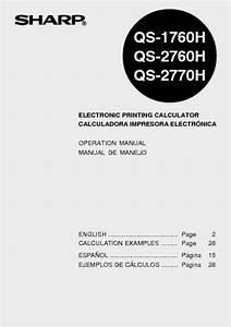 Qs-1760h Manuals