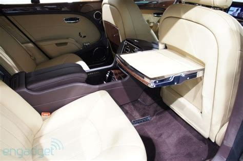 Bentley Develops Executive Interior Concept For Mulsanne