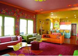 Multi Colored Sleek And Fun Kitchen Sleek Finishes Such As The Stainless Steel Bedroom Ideas Orange Bedroom Ideas For Girls Home Designs Project Two Tone Color Paint Ideas For Interior Paint House Painting Tips
