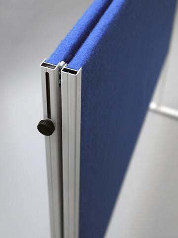 mobile folding felt notice board  wheels access displays