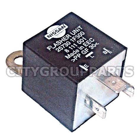 nissan micra k11 facelift 2001 to 2002 indicator flasher unit relay 25730 1f500