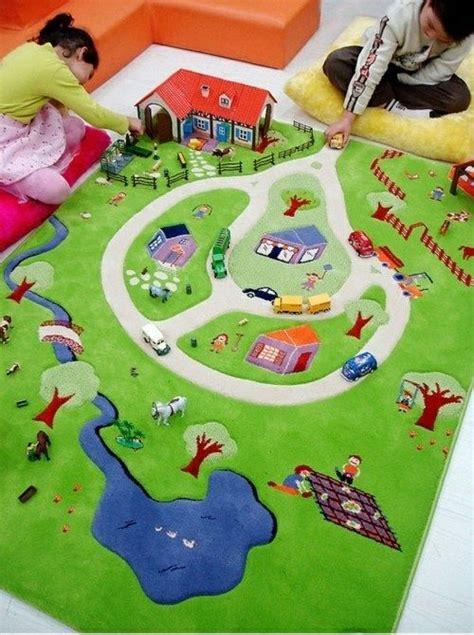 Kinderzimmer Ideen Bauernhof by Spielteppich Kinderzimmer Gestalten Kinderzimmer