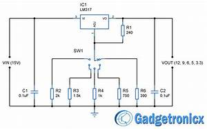 12v  9v  6v  5v  U0026 3 3v Multiple Voltage Power Supply