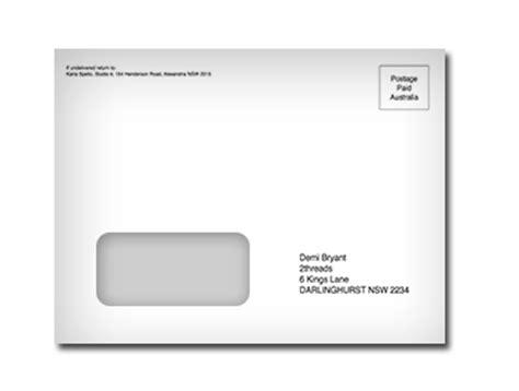 window envelope envelope dl printrite australia