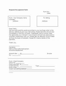 request for payment form template With request for payment form template