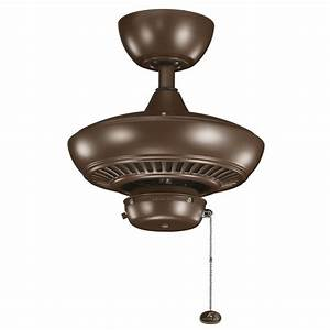 Outdoor ceiling light with pull chain : Kichler cmo coffee mocha quot outdoor ceiling fan