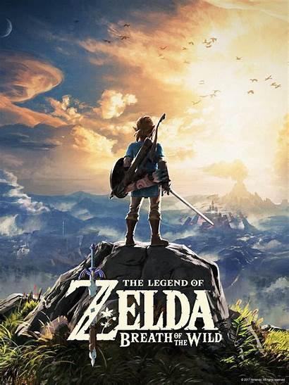 Zelda Breath Wild Legend Wallpapers Nintendo Botw