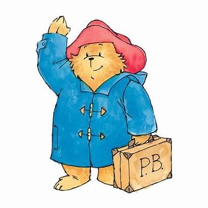 Bear Paddington Characters Clipart Illustrations Childrens Children