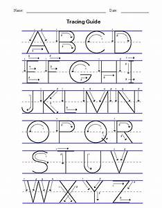 alphabet tracing fun with the kiddos pinterest With traceable alphabet templates