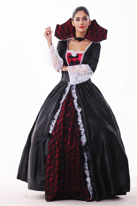 Black Queen Halloween Vampire Costume - PINK QUEEN