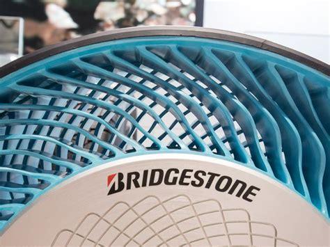 bridgestones  gen airless tire prototype pictures