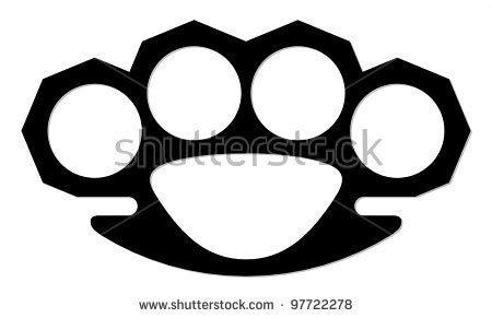 brass knuckles template knuckle duster template www pixshark images galleries with a bite