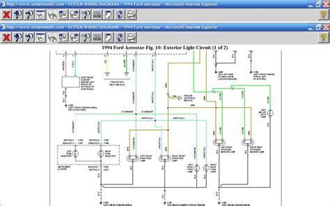 1994 Ford Aerostar Engine Diagram by Where Is The Turn Signal Relay On A 1994 Ford Aerostar