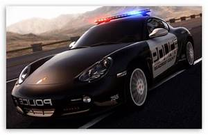 Need For Speed Hot Pursuit Porsche Police Car 4K HD