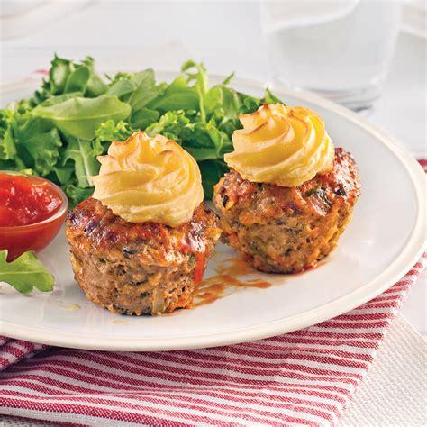 cuisine recettes pratiques petits pains de viande style cupcake recettes cuisine et nutrition pratico pratique