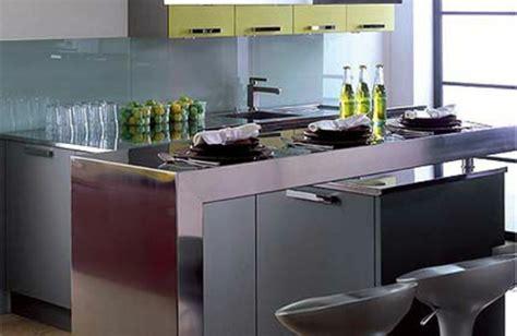 petit ilot central cuisine comment amenager une cuisine archzine fr