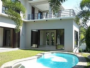 New, Asian, Tropical, House, With, Swimming, Pool, In, Ayala, Alabang, For, Sale, From, Manila, Metropolitan
