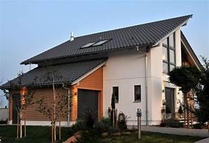 Häuser Mit Pultdach : fertighaus mit holz schw rerhaus ~ Markanthonyermac.com Haus und Dekorationen