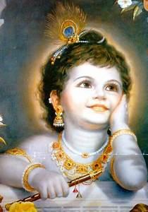 Cute Child Lord Krishna