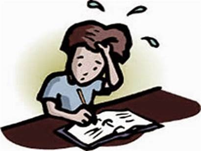 Test Clipart Someone Dreaming Exam Taking Student