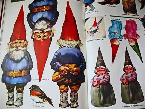 gnomes book  christmas crafts st ed dj sewing