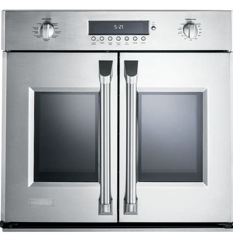 monogram  professional french door electronic convection single wall oven zetfhss ge