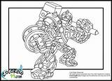 Skylanders Coloring Pages Giants Crusher Team Print Trap Swap Force Printable Giant Colors Dragons Getcoloringpages Swarm Clrg Hex sketch template