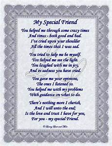 poems for special friends