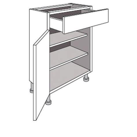 meuble cuisine bas profondeur 40 cm meuble de cuisine bas p 33 cm 1 porte 1 tiroir twist cuisine