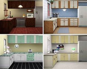 Simple kitchen decor kitchen decor design ideas for Sims 3 interior design kitchen