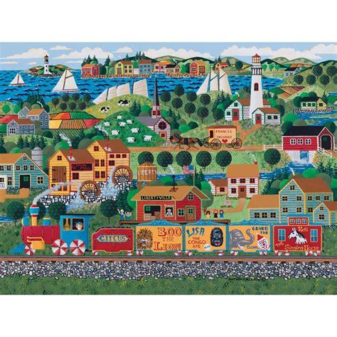 Train Jigsaw Puzzles 1000 Pieces