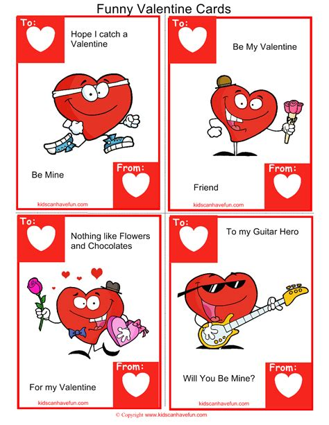 valentines day card kids funny cards kidscanhavefun blog