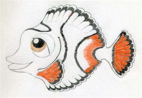 cartoon fishes kissing