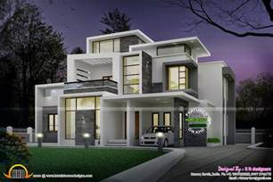 contemporary home design grand contemporary home design kerala home design and floor plans