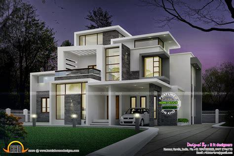 grand contemporary home design kerala home design