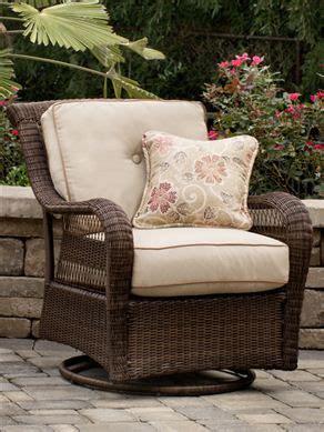pinehurst patio swivel glider  patio furniture