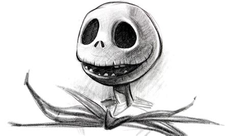 draw jack skellington halloween special proko
