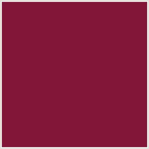 what color is claret 821636 hex color rgb 130 22 54 claret