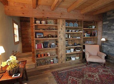 bureau bibliotheque rénovation d 39 un chalet à méribel par agnès vermod