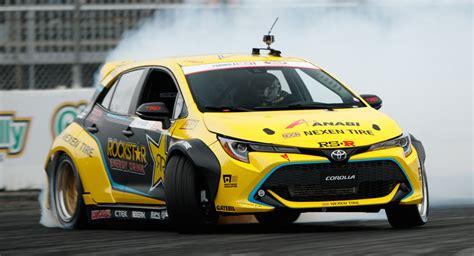 Formula Drift Car by New Toyota Corolla Already Tearing It Up In Formula Drift