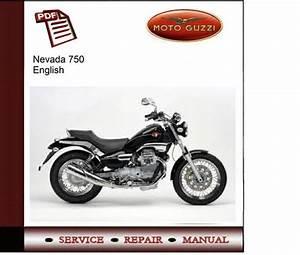 Moto Guzzi Nevada 750 Service Manual