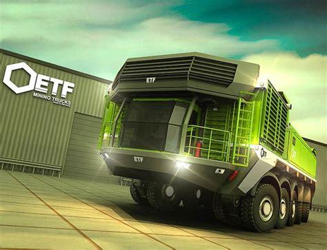 Futuristic Vehicle, Future Truck This Huge Road Train (or