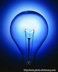 light bulb photo picture definition at photo dictionary With lamp light definition