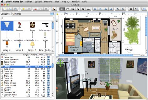 software progettazione interni 3d sweet home 3d programma progettazione interni gratis