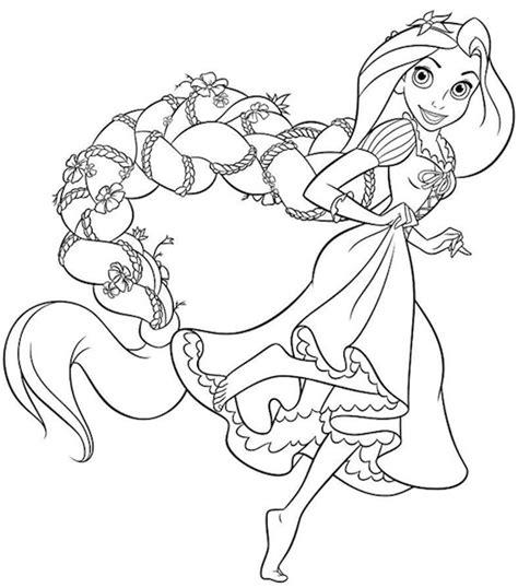 principesse disney da colorare rapunzel principessa rapunzel da colorare