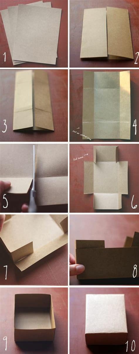 idee de bureau a faire soi meme 1001 idées comment faire une boîte en papier